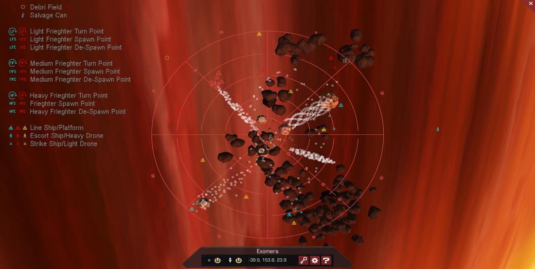 Exomera 3D System Map