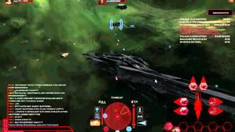 Battlestar Galactica Online Yski PvP 1 Hunting with Arrow the Banshee