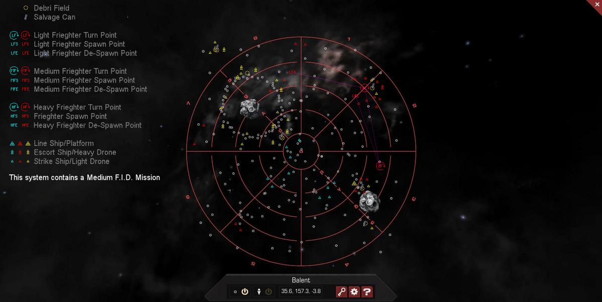 Balent 3D System Map