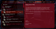 Cylon Pilot Log Skills Tab