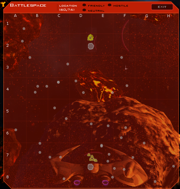 Battlespace System Map