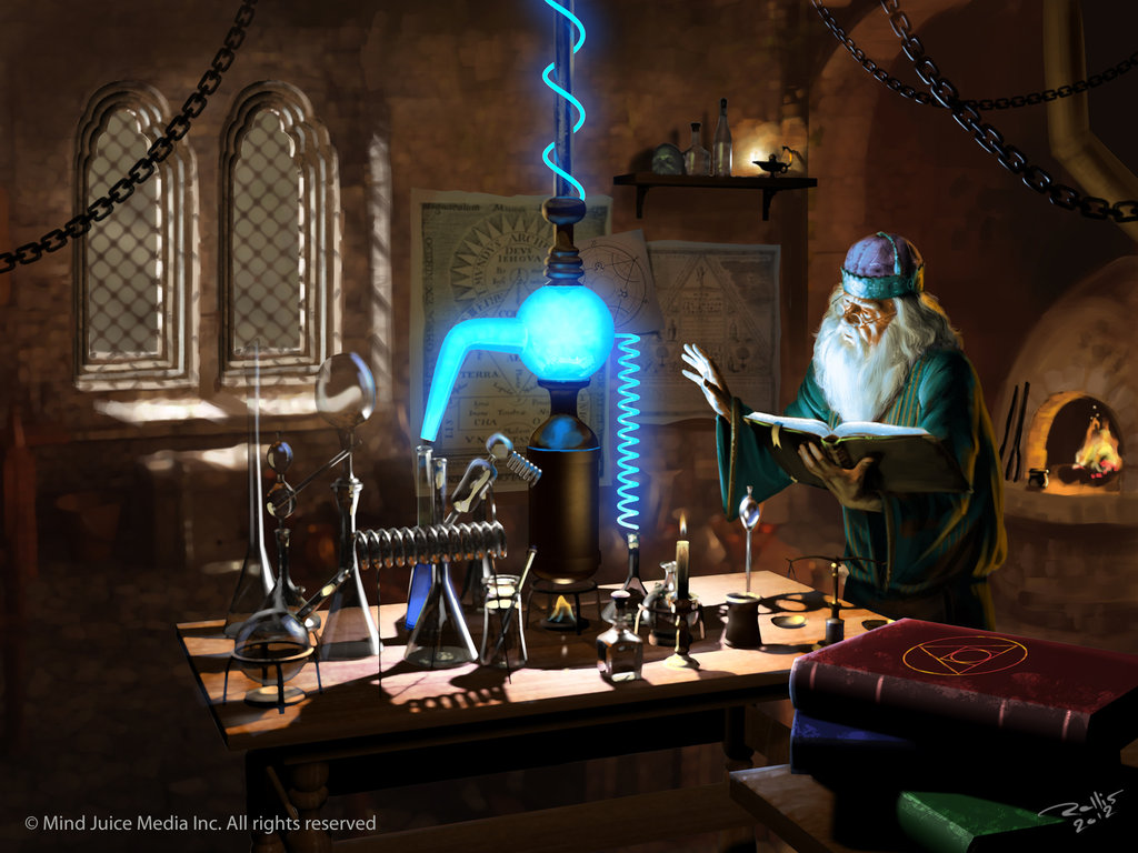 science wizards lab by - photo #36