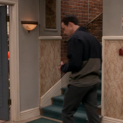 Sheldon decides to follow Amy.