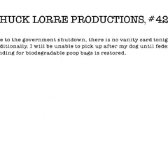 Chuck Lorre Productions, #426.