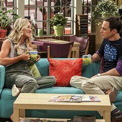 Penny advising Sheldon about cohabitation.