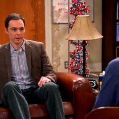 Sheldon being interviewed by Adam Nimoy.