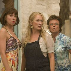 With Meryl Streep in