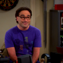 Leonard talking about moving in with Penny without Sheldon.