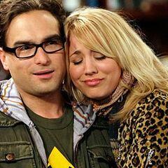 Penny and Leonard.