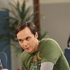 Sheldon at the cafeteria.