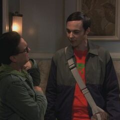 Sheldon wants Leonard to get the mail.