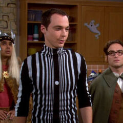 Sheldon as the Doppler Effect.