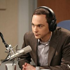 Sheldon being interviewed by NPR.