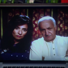 Raj's parents telling him to drop Emily.