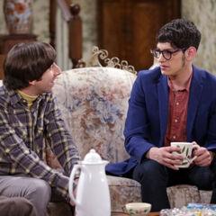 Howard meets his half-brother Josh Wolwoitz.