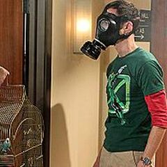 A little explosion in the war of Sheldon vs. Raj.