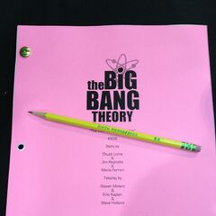 The front page of the script for the episode.