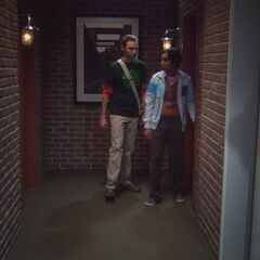 Raj and Sheldon.
