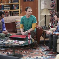 Sheldon wants Howard and Raj to find him another girlfriend.