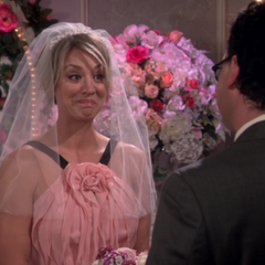 Penny after givng her vows.