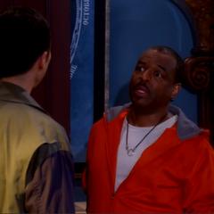 Sheldon telling LeVar that