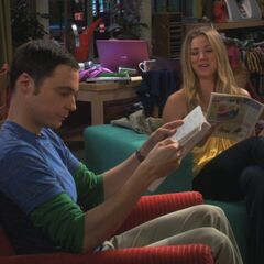Reading together just like an old married couple.