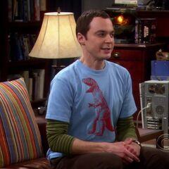 Sheldon describing their train ride.