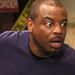 Levar Burton in shock at the party going on in 4A.