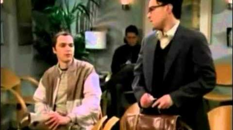 The Big Bang Theory Unaired Pilot Scene 1-0