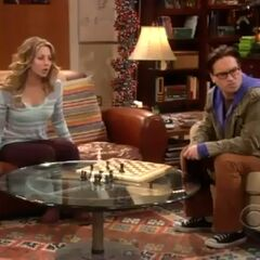 Leonard and Penny are puzzled with Sheldon.
