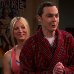 Sheldon happy that Leonard did sleep with Mrs. Lathram.