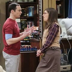 Sheldon talking to Amy in 4A.