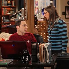 Amy wants to help Sheldon.