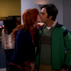 Remily kiss.