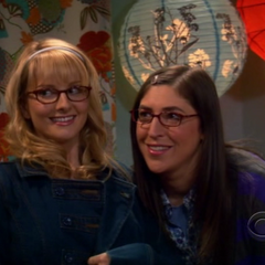 Amy telling Bernadette that annoying Penny could cause her to be tied up in a cornfield.