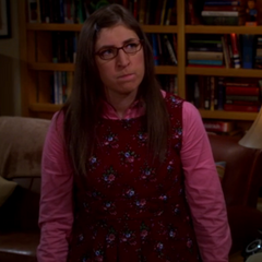 Amy is mad at Sheldon.