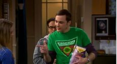 Sheldon's way of saying 'thank you'