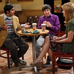 Raj's date with Emily.