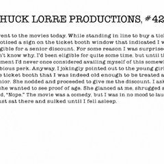Chuck Lorre Productions, #427.