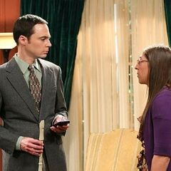 Amy and Sheldon.