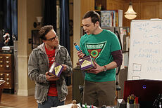 The Transporter Malfunction - Sheldon and Leonard