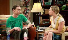 S5EP03 - Sheldon and Penny (staredown)