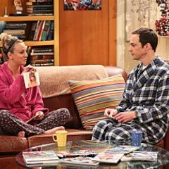 Penny teaching Sheldon facts about celebrities.