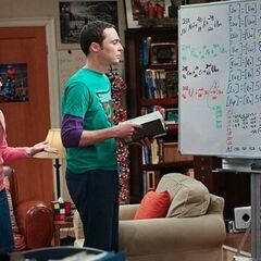 Sheldon realizes that his great discovery is wrong.