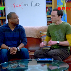 LeVar on the last episode of Fun with Flags.