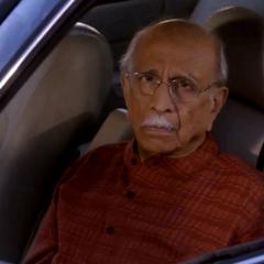 Older gentleman that Raj was yelling at.