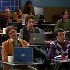 The students that Sheldon is boring.