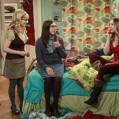 Amy and Bernadette help Penny comes to term with her bullying ways in school