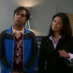 Priya and her brother.