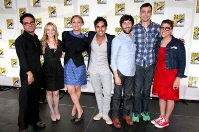 The Big Bang Theory Comic Con 2011